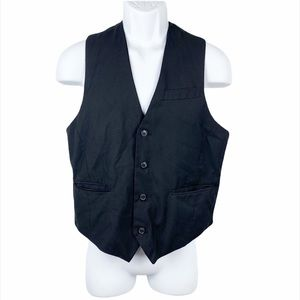 Foreign Exchange Black Formal Vest